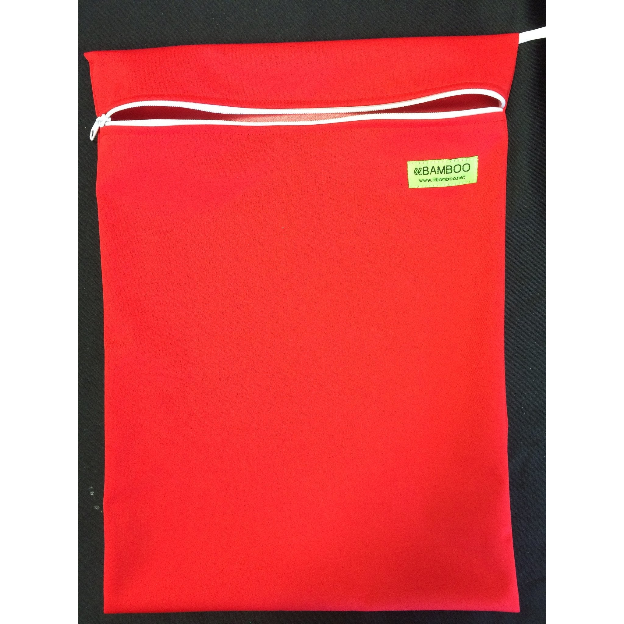 Lil Bamboo small wetbag- red