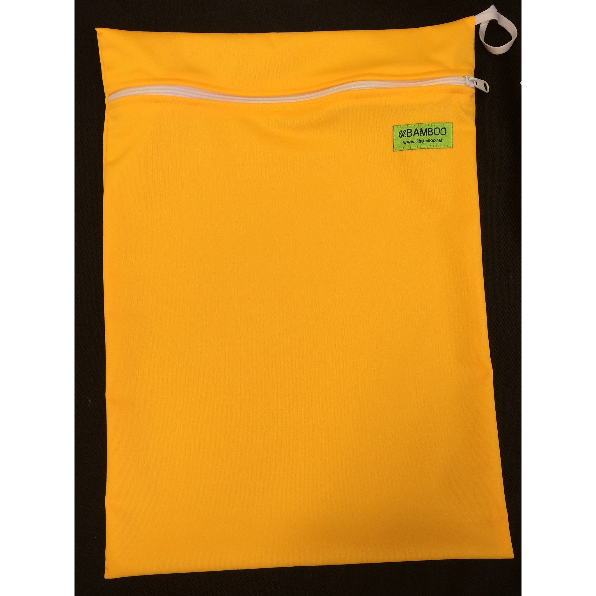 Lil Bamboo small wetbag- dark yellow