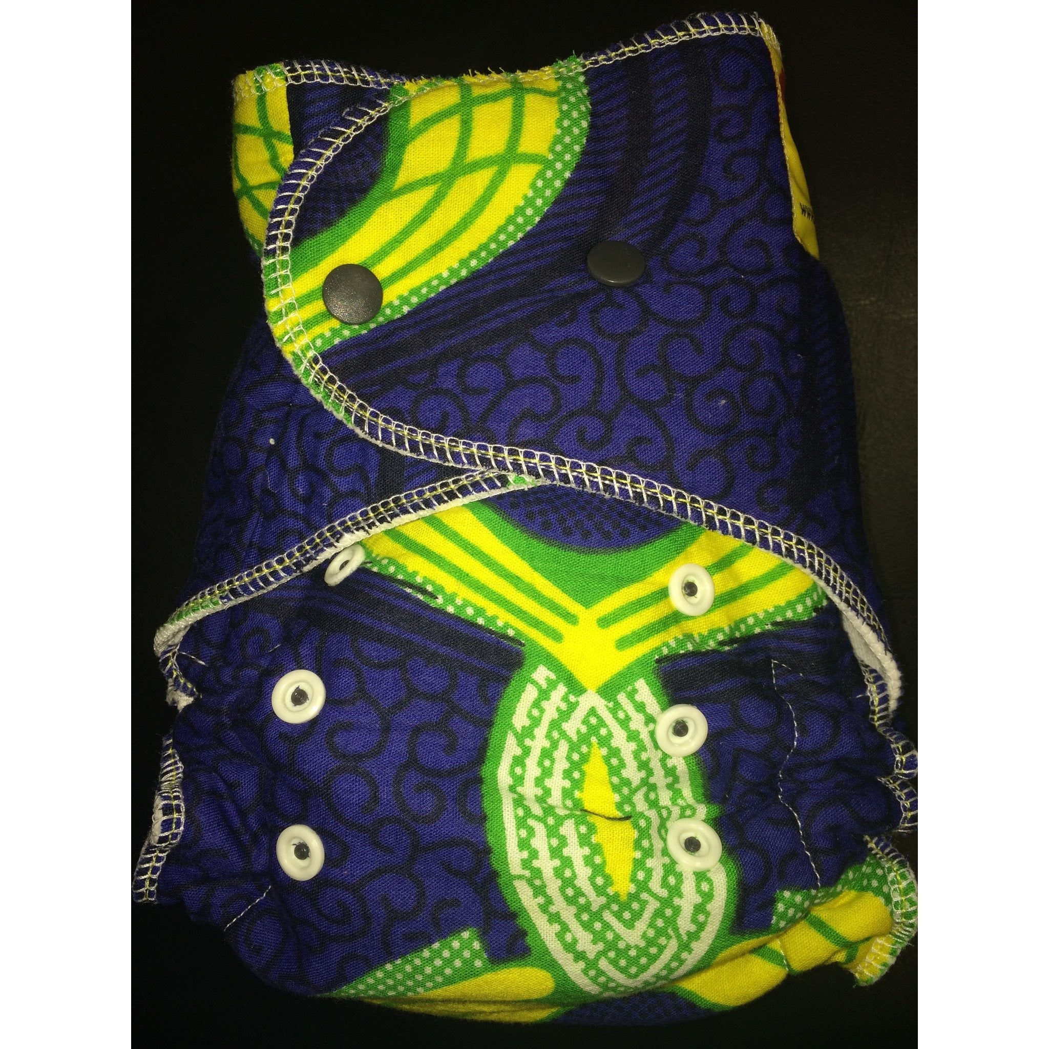 Baaby Fitted Diaper - African Print 5