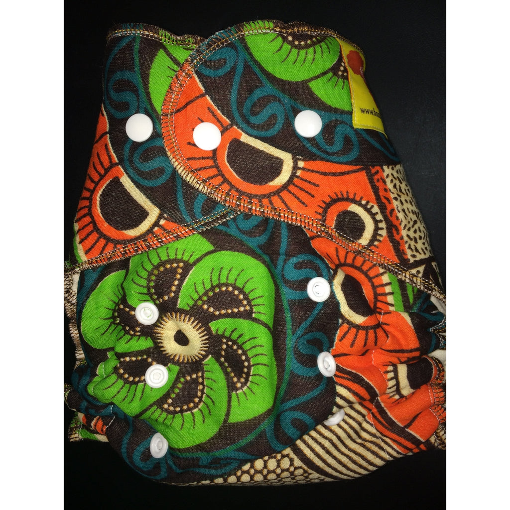 Baaby Fitted Diaper - African Print 4