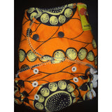 Baaby Fitted Diaper - African Print 2