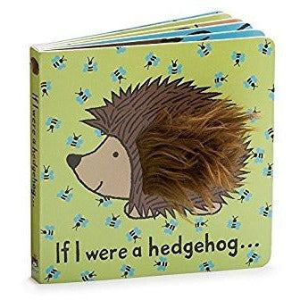 Jellycat If I were a hedgehog... (Book)