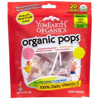 YumEarth Organic Lollipops (4.2oz bag)