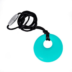 Mint Pendant Teething Happens Silicone Teething Necklace