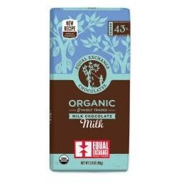 Organic Milk Chocolate (43% Cacao)