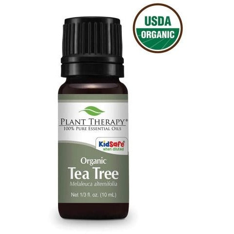 Plant Therapy- Organic Tea Tree Essential Oil 10mL