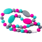 Silicone Teething Necklace - Multi 2