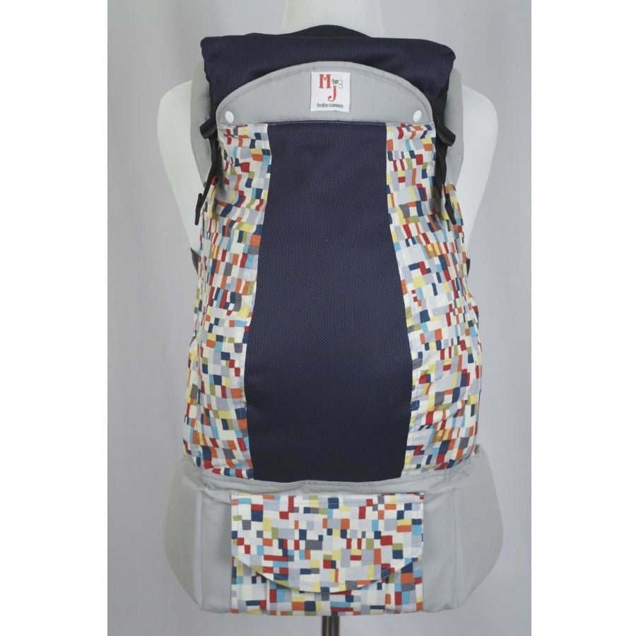 MJ Baby Carrier - Squared Up on Fresh Mesh