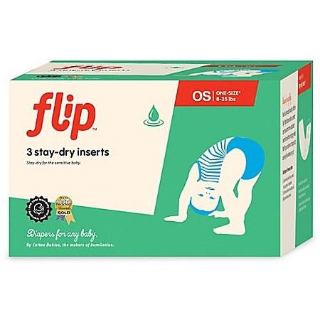 Flip Diapers Stay Dry One-Size Insert (3-Pack)