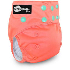 Funky Fluff LUX Wicking Jersey Diaper System - Sweet Coraline