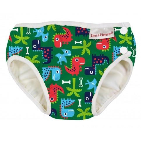 Imse Vimse Swim Diaper - Green Dino