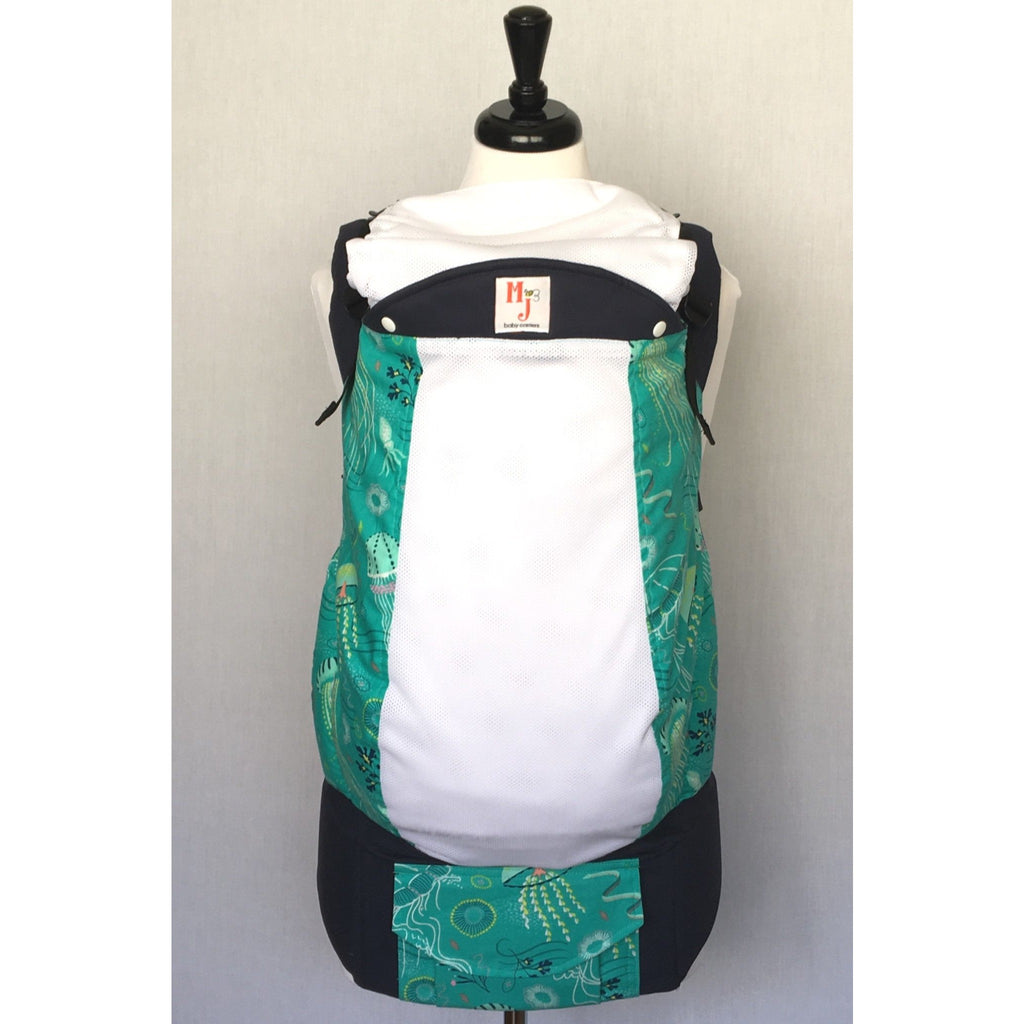 MJ Baby Carrier - Under the Sea on Fresh Mesh