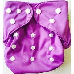 GUC Lil' Bamboo Diaper Cover- Purple
