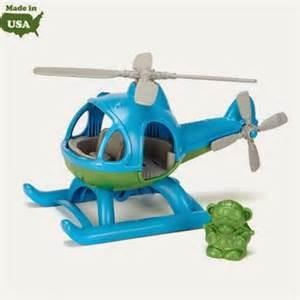 My First Green Toys - Helicopter