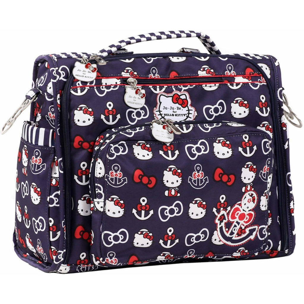 Ju Ju Be- B.F.F. Diaper Bag - Hello Kitty Out to Sea