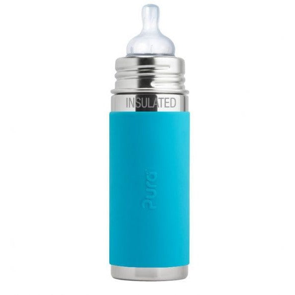 Pura 9oz Stainless Insulated Sleeved Infant Bottle (3+ mo)