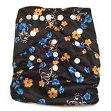 GUC Alva OS Pocket Diaper- Midnight Flowers