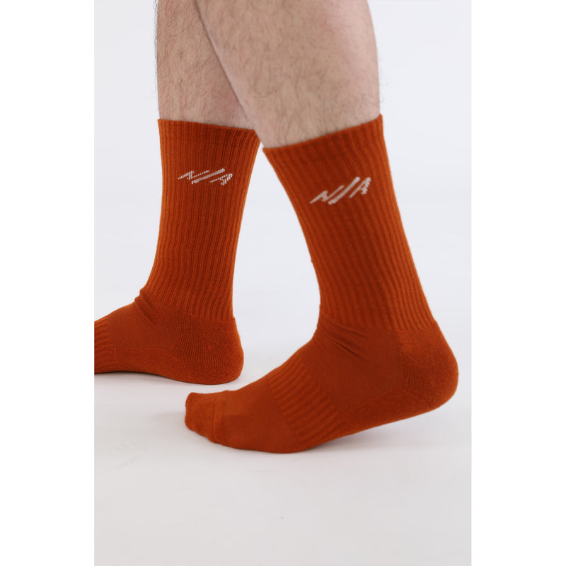 TEN <br> RUST <br> MID-CALF ATHLETIC