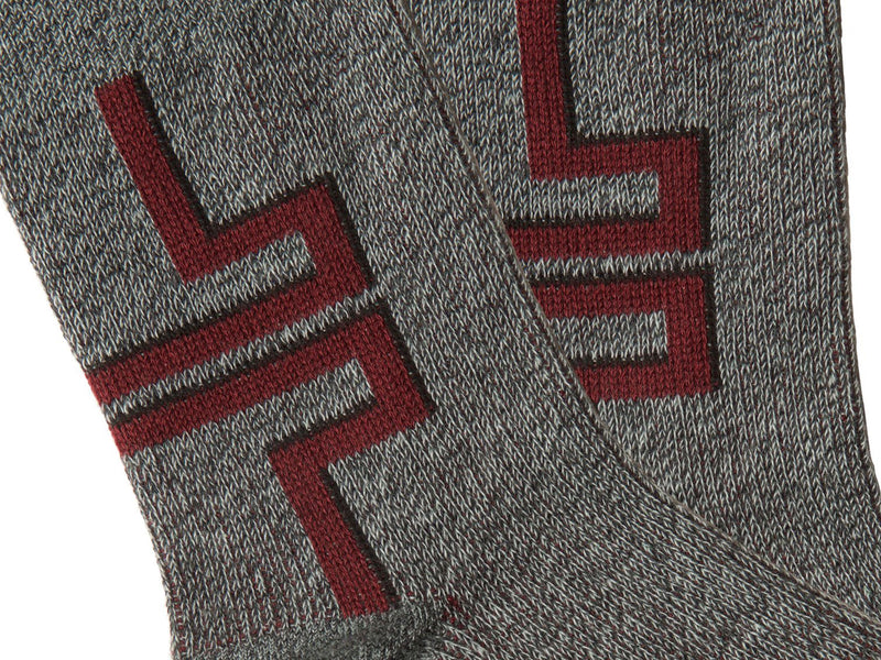 FIFTYNINE <br> OXBLOOD <br> HI-ANKLE