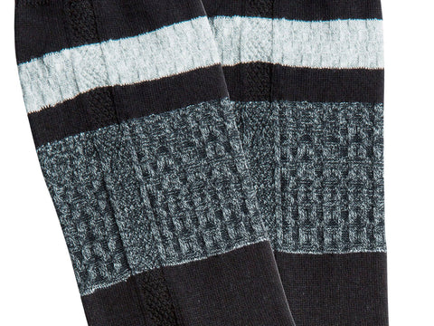 "<font size=""-1"">SOCK</font> <br> FiftyFive <br> <font size=""-1"">COLOR</font> <br> BLK <br> <font size=""-1"">HEIGHT</font> <br> MID-CALF <br> <font size=""-1"">PRICE</font> <br>$18"