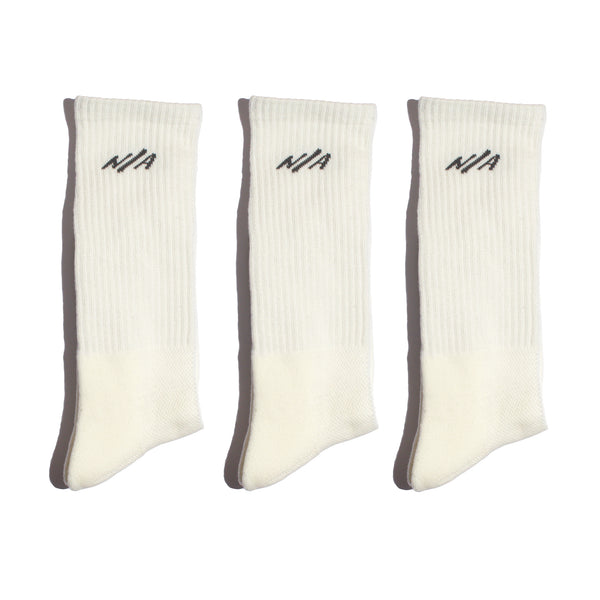 I Only Wear White Socks - 3 Pack