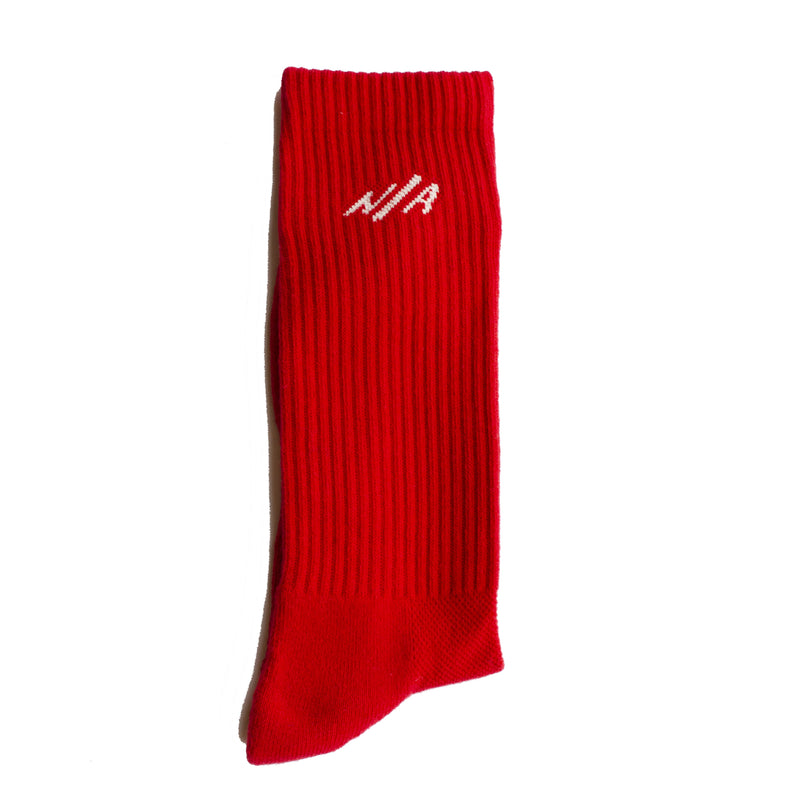 TEN <br> RED <br> MID-CALF ATHLETIC