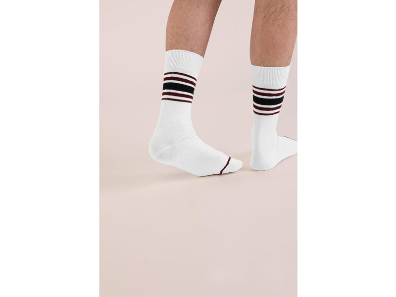 FIFTY <br> WHT/OXBLD <br> MID-CALF