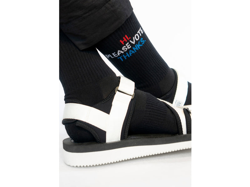 PLEASE VOTE <br> BLK <br> MID-CALF ATHLETIC