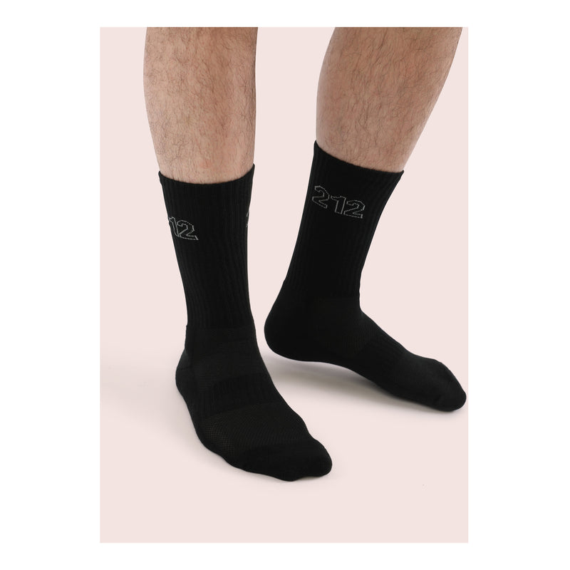 NINETY SIX <br> BLK <br> MID-CALF ATHLETIC