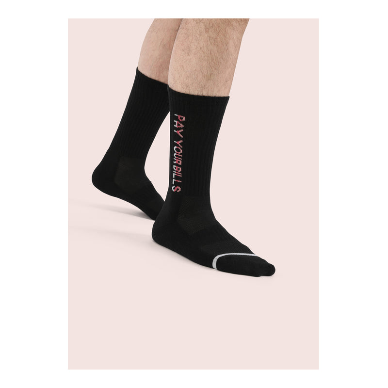 NINETY SEVEN <br> BLK <br> MID-CALF ATHLETIC