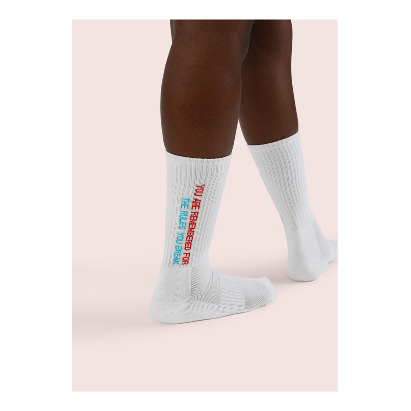 NINETY EIGHT <br> WHT <br> MID-CALF ATHLETIC