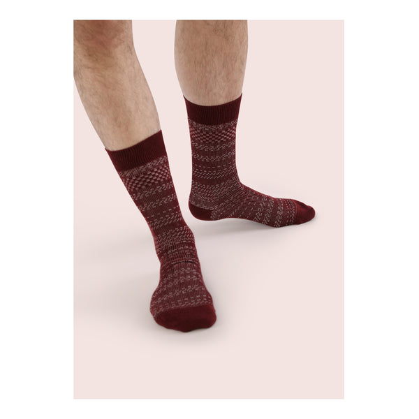FOUR <br> OXBLOOD <br> MID-CALF