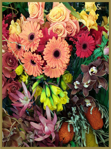 Autumn Tones Florist Choice Bouquet