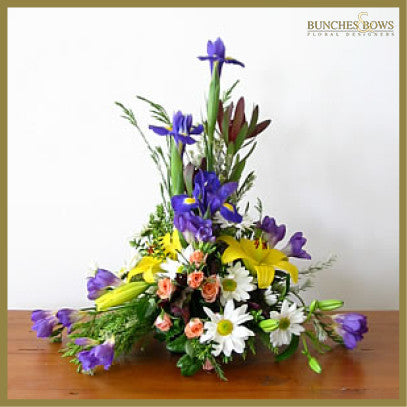 Bowl Arrangement, Bunches & Bows Florist, Shop 9, Albion Place, Dunedin 9016.jpg
