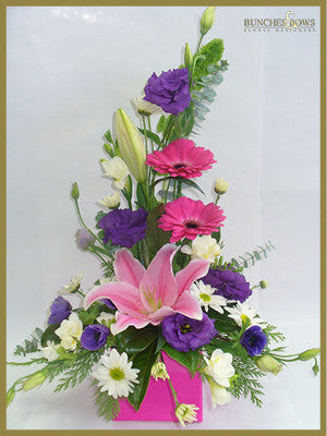 Box Arrangement, Bunches & Bows Florist, Shop 9, Albion Place, Dunedin 9016.jpg