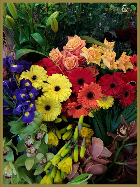 Bright Colours Florist Choice Bouquet