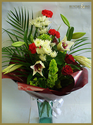 Christmas Bouquet, Bunches & Bows Florist, Shop 9, Albion Place, Dunedin 9016.jpg
