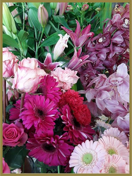 Pinks Florist Choice
