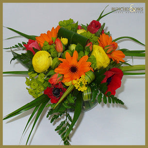 Posy in a Vase, Bunches & Bows Florist, Shop 9, Albion Place, Dunedin 9016.jpg