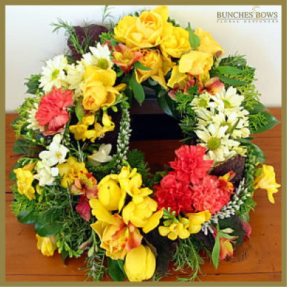 Symapathy Arrangement, Bunches & Bows Florist, Shop 9, Albion Place, Dunedin 9016.jpg