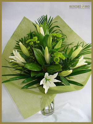 Sympathy Bouquet, Bunches & Bows Florist, Shop 9, Albion Place, Dunedin 9016.jpg
