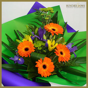 Vibrant Bouquet, Bunches & Bows Florist, Shop 9, Albion Place, Dunedin 9016.jpg