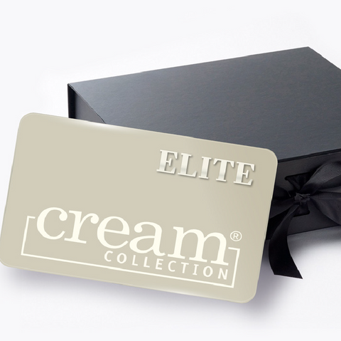 CREAM COLLECTION LOYALTY CARD