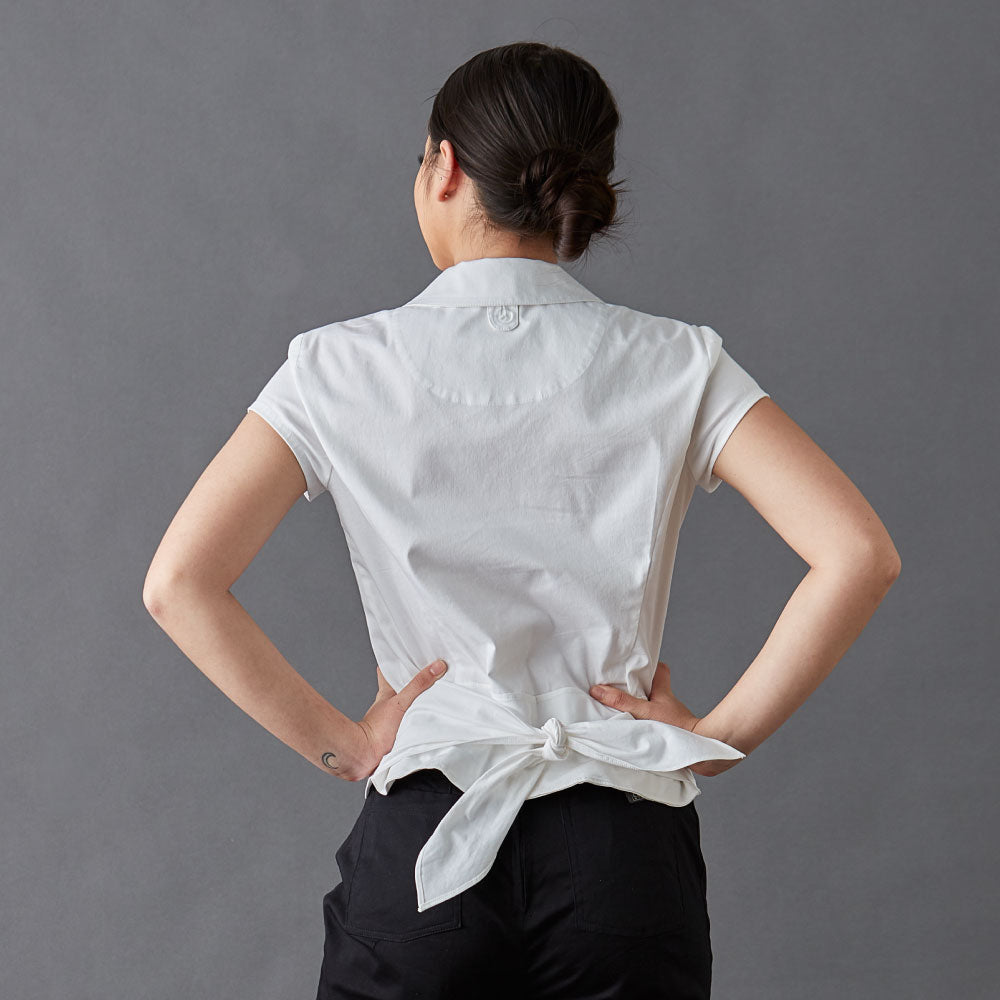 Chef-shirt-simone-White-Back-tie
