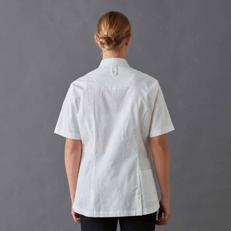 Chef Jackets-Shirt-Frankie-With-Press-Studs-Back