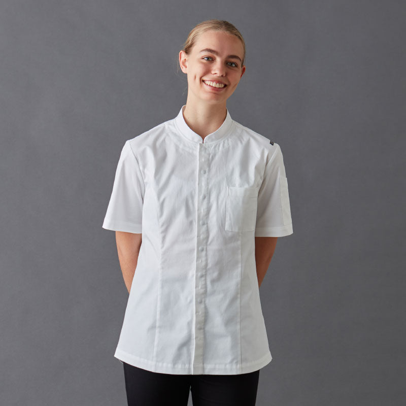 Chef Jackets-Shirt-Frankie-With-Press-Studs
