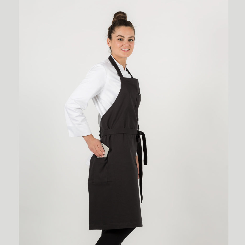 Apron Taylor, adjustable neck strap, double pen pocket on front, hip pocket