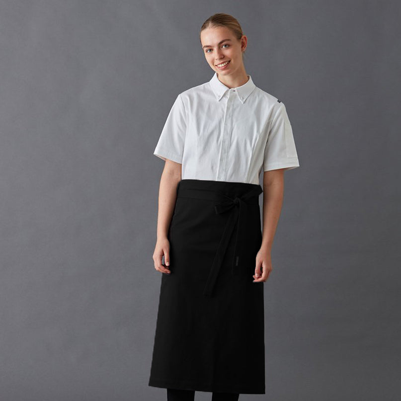 Apron Half, European styling, made from superior Organic Cotton