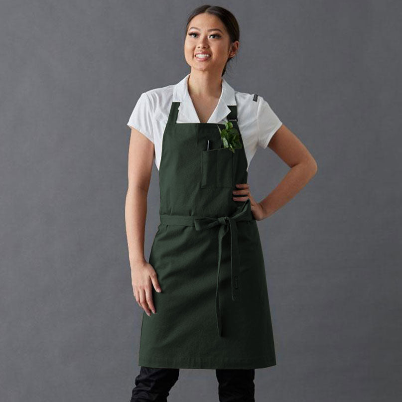 Apron Taylor PETITE, adjustable neck strap, double pen pocket on front, hip pocket