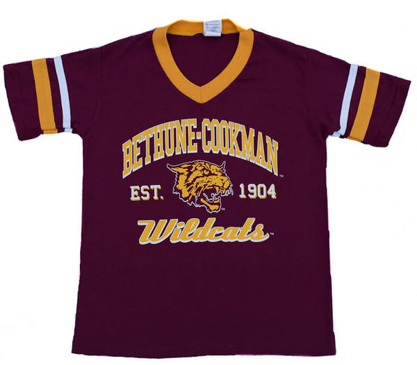 BCU Maroon and Gold Jersey T-shirt